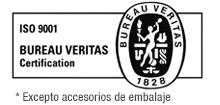 logotipo certificado de calidad BVQI